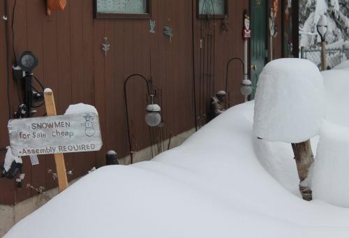 snowman-sign