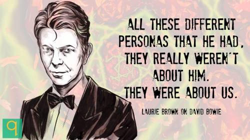 Laurie Brown on David Bowie