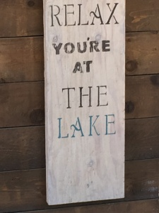 Relax You're At The Lake